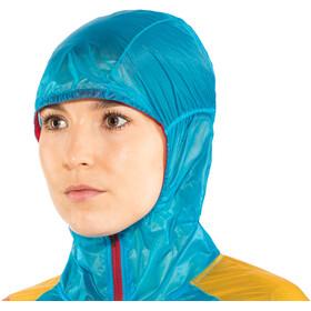 La Sportiva Briza Windbreaker Jacket Women Malibu Blue/Yellow